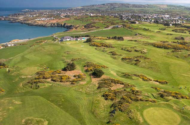 Golf on Anglesey